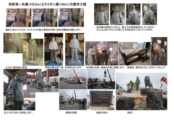 別府氏とライオン像製作工程1.8MB.jpg